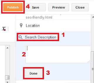 cara setting meta description seo friendly