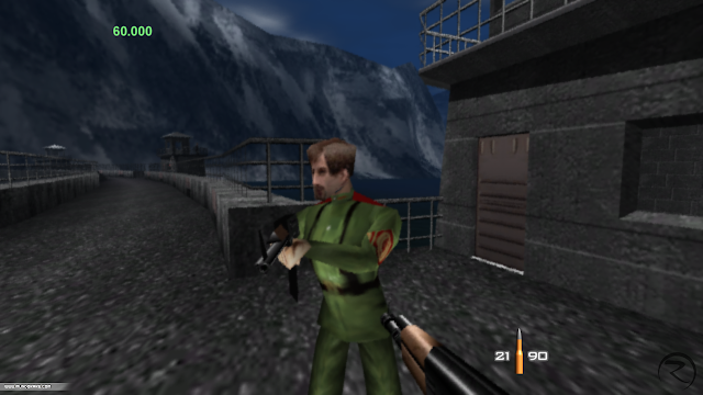 Screenshot of GoldenEye 007 for N64