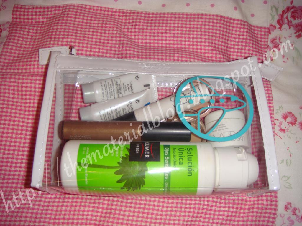 en el equipaje de mano se puede llevar maquillaje