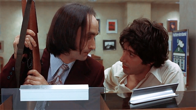 Al Pacino and John Cazale in Dog Day Afternoon