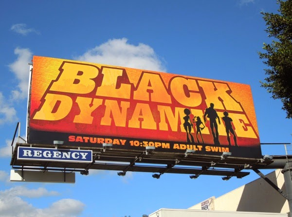 Black Dynamite season 2 Adult Swim billboard