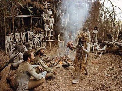 Imagen gore de la película 'Holocausto_Caníbal (1980), de Ruggero Deodato. Making Of cine