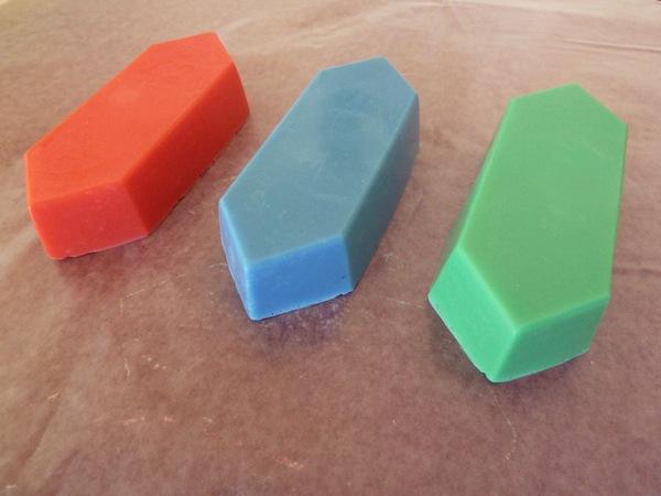zelda rupee soap