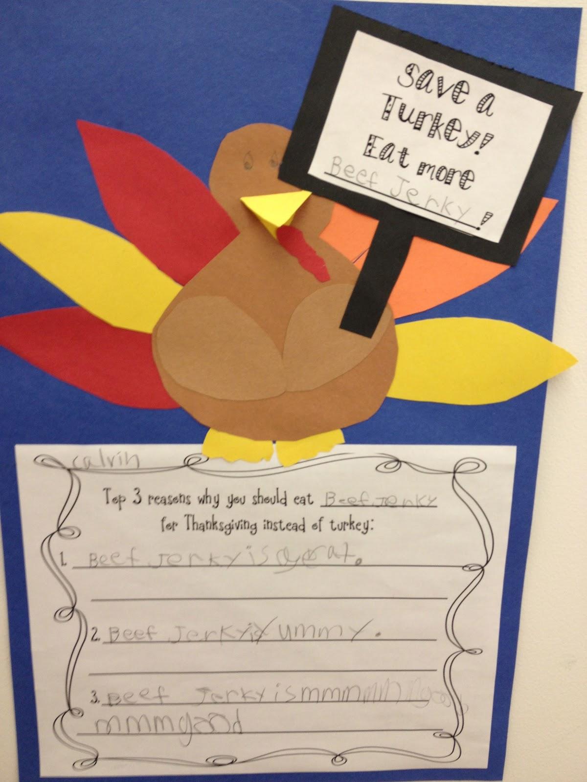 First grade smiles turkeys on strike for Turkey crafts for first grade