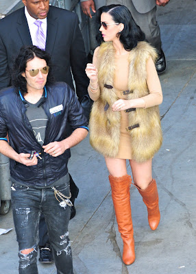 Katy Perry Leggy Candids
