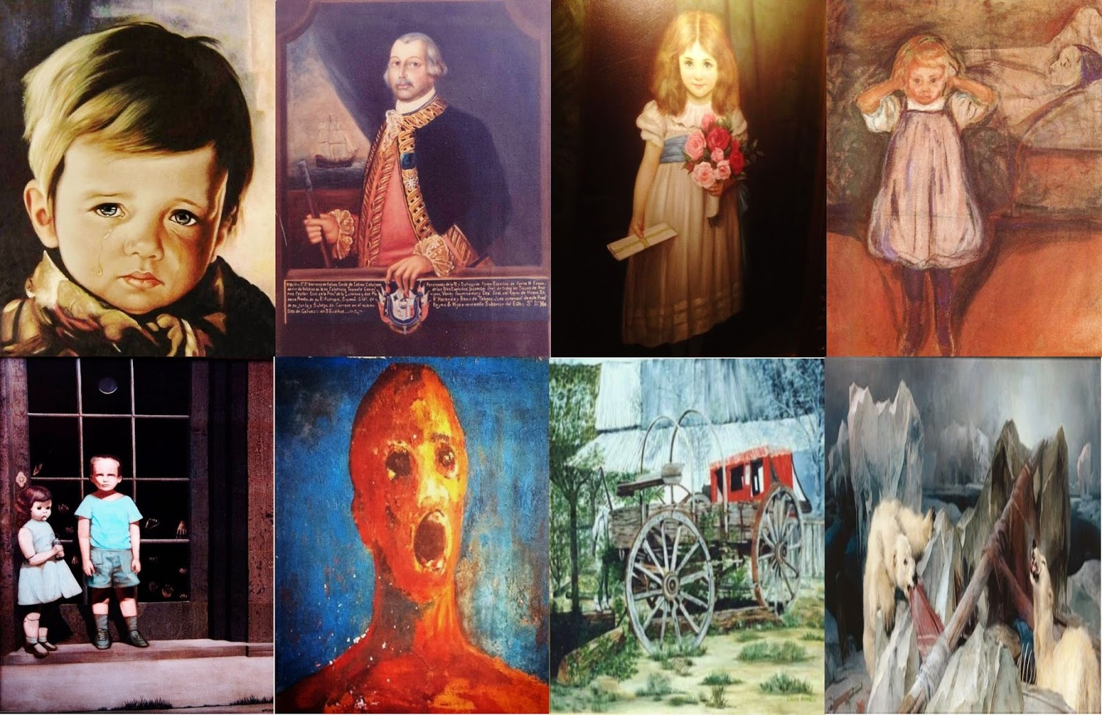 neo zone: haunted paintings (paranormal)
