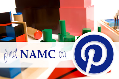 NAMC montessori training is now on pinterest