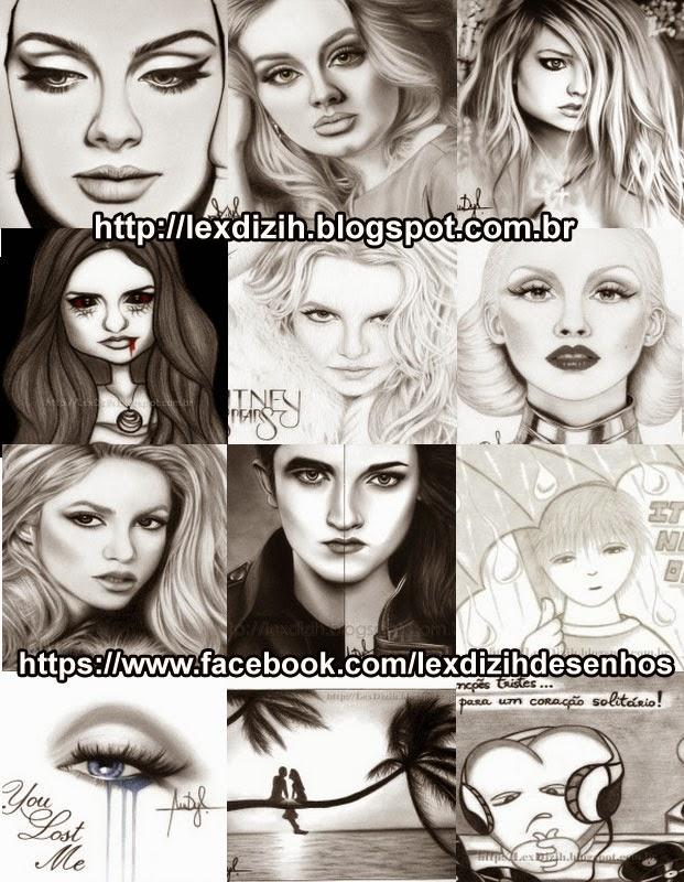 Desenhos de Lex Dizih