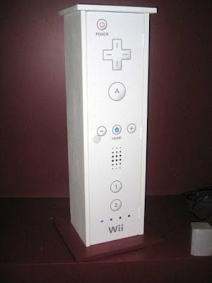 Armario con forma de Wiimote