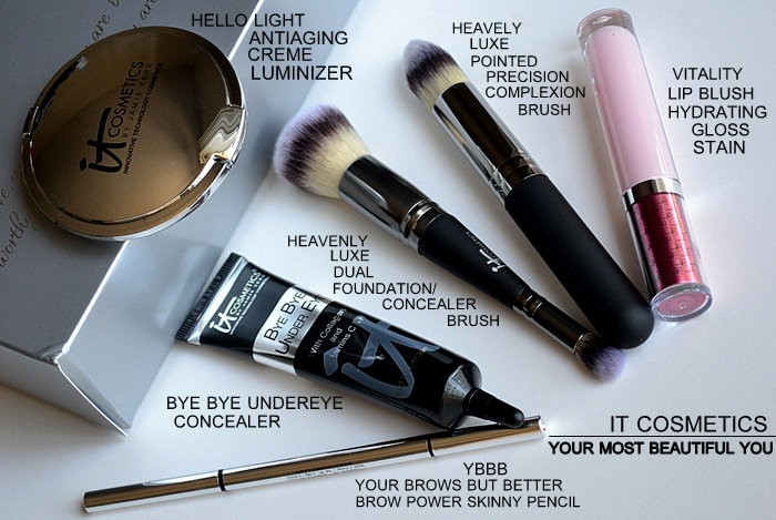 It Cosmetics Your Most Beautiful You 6 Piece Antiging Makeup Collection Beauty Blog Photos Swatches