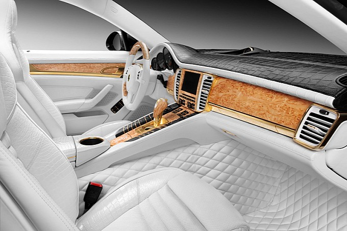 Car Zone Porsche Panamera Interior Special Design
