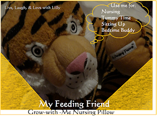 My Feeding Friend Review Giveaway, breastfeeding support pillow