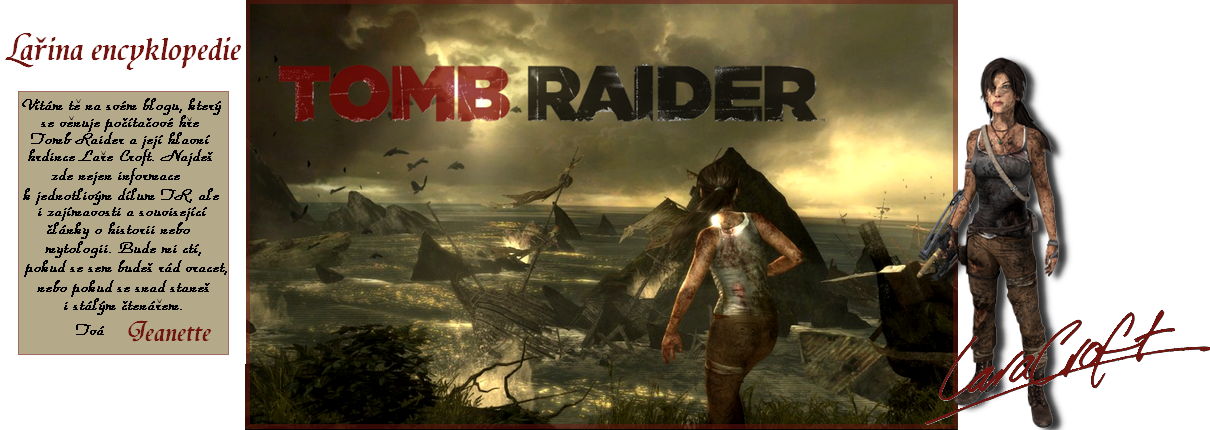 Encyklopedie světa Tomb Raider