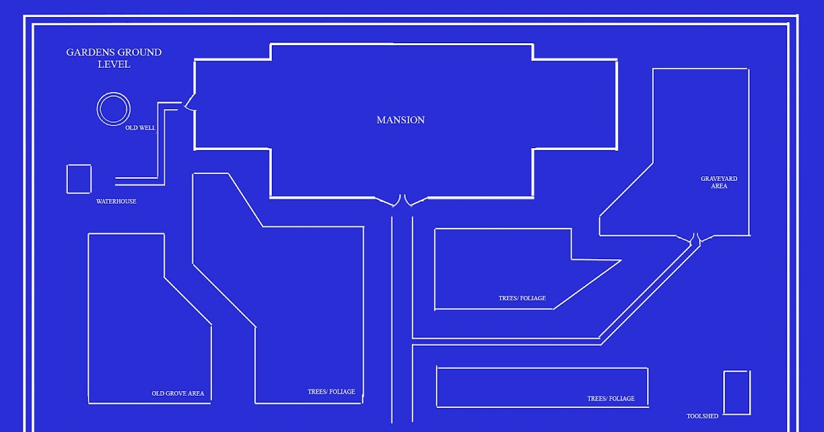 Haunted Mansion Blueprints