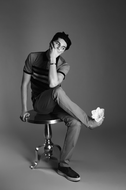 Artur Daniyarov for Officiel Hommes Ukraine (march 2012)