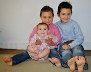 Alexander, Antonio und Angela