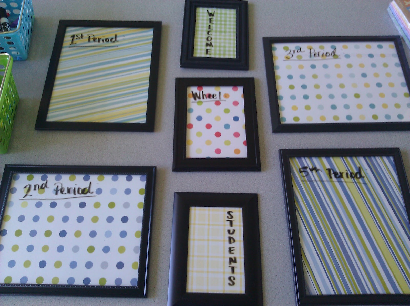 Flipped Classroom/Flipped Wardrobe: DIY Write-On Frames