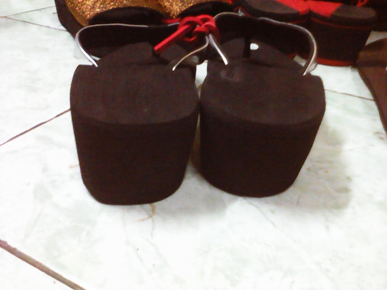 Sandal Wanita Cantik Tinggi 5 Cm Tali Custom Rp 33 000 S d Disesuaikan dengan jumlah pesanan