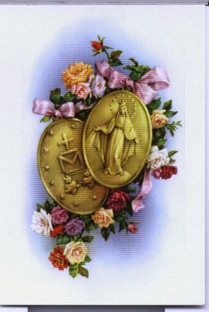 Medalia miraculoasa a Sfintei Fecioare Maria