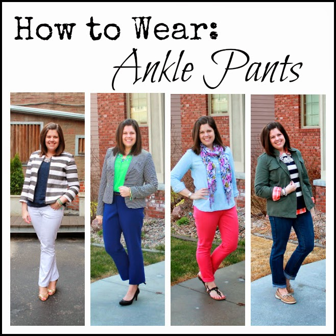 My New Favorite Outfit: How to Wear: Ankle Pants