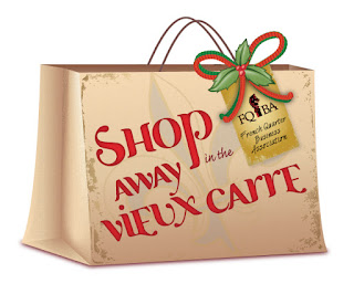 Shop Away In The Vieux Carre Ad