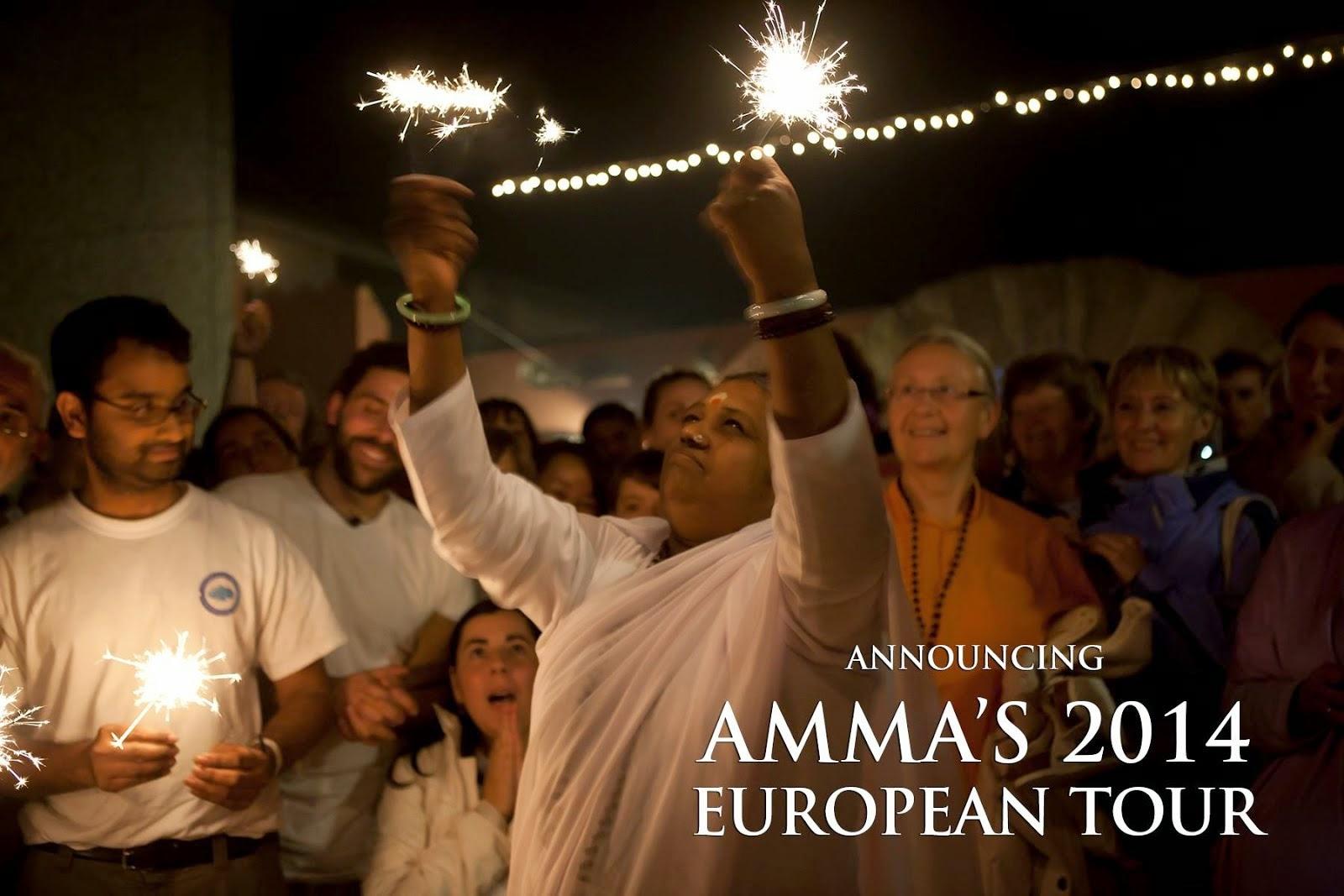 AMMAN EUROOPAN KIERTUE SYKSY 2014