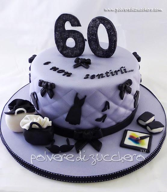 torta fashion: torta per una 60 enne alla moda