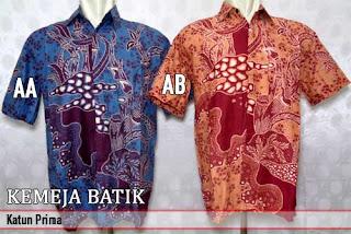 Grosir kemeja batik pria murah dan berkualitas (batik pekalongan)
