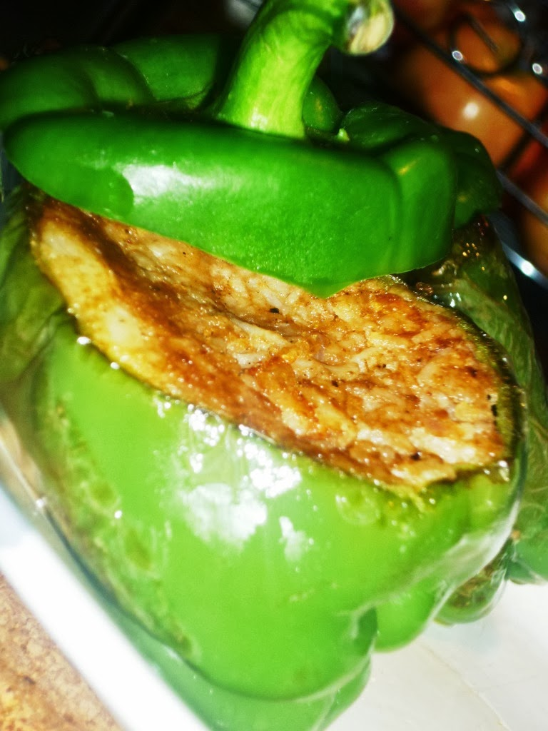 Stuffed Bell Peppers Chinese