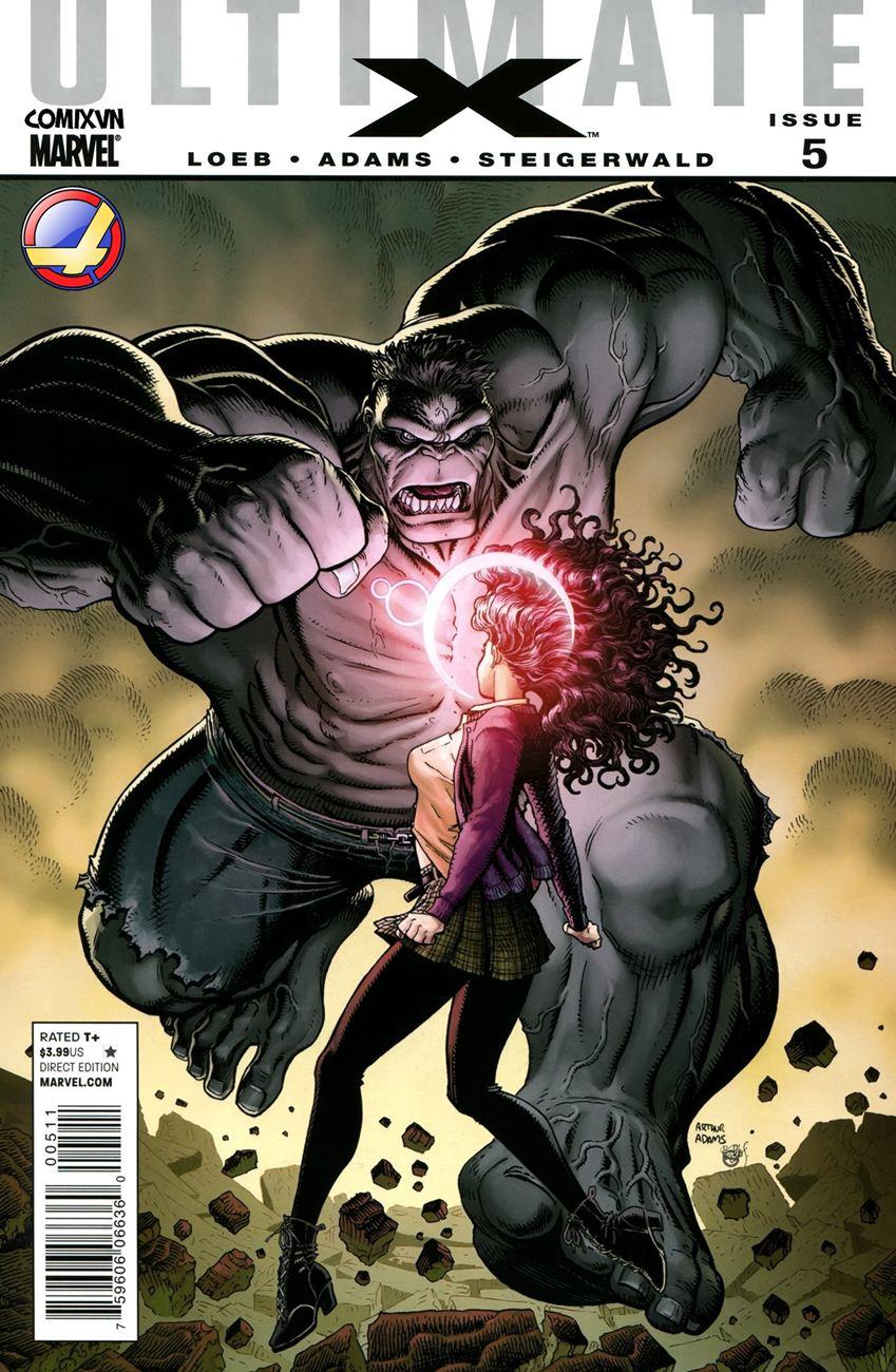 TruyenHay.Com - Ảnh 1 - Ultimate Comics X Chap 5