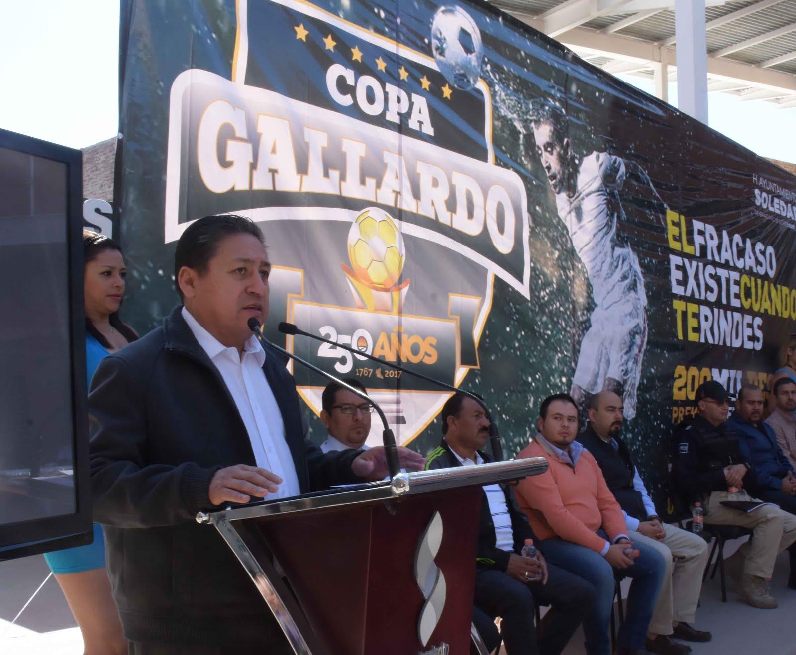 PRESENTAN COPA GALLARDO 250 AÑOS