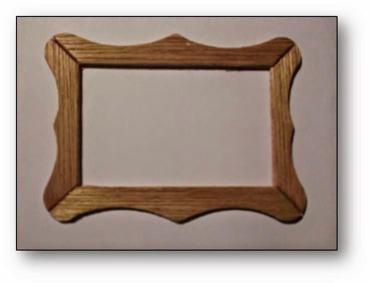 Unoesadoce tutorial marco para cuadros picture frame for Marcos para cuadros a medida