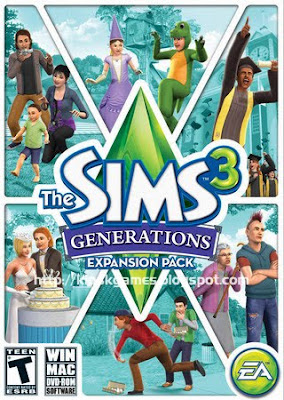 The Sims 3 Generations - Mediafire