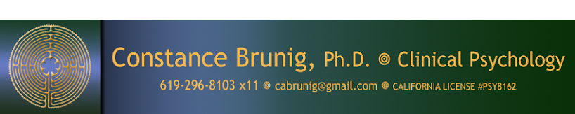 Constance Brunig Ph.D. Licensed Clinical Psychologist.