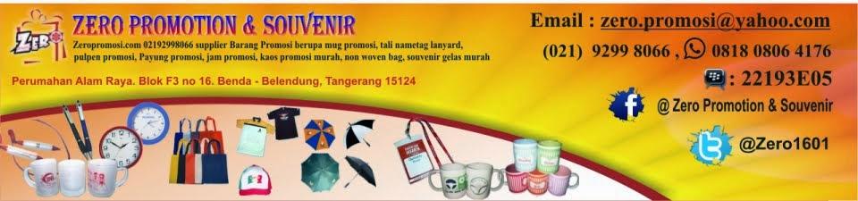 Barang Promosi, Mug Promosi, Payung Promosi, Pulpen Promosi, Jam Promosi, Topi Promosi, Tali Nametag