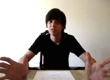 Estudante ateu Ciel Vieira, de Miraí (MG)