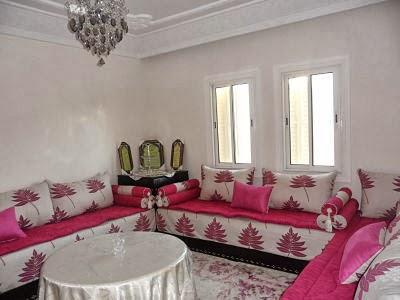 Ameublement salon marocain ameublement d 39 un salon for Les modeles des salons marocains
