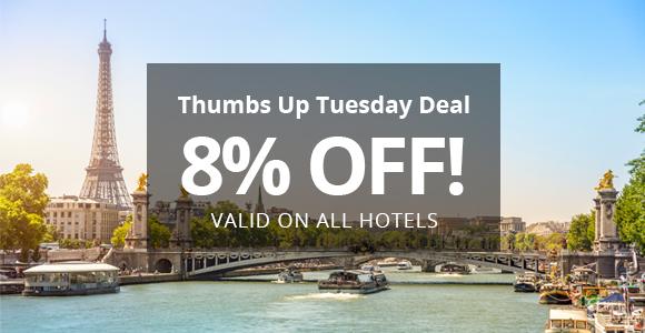 快訂!所有大小型酒店都用得,Otel .com 限時72小時【92折優惠碼】 Discount Code,有效至2016年2月5日。