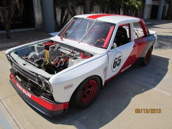 Race Car, 1971 Datsun 510 Sedan | Auto Restorationice