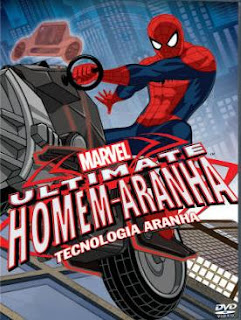 Ultimate Homem-Aranha Tecnologia Aranha Dublado