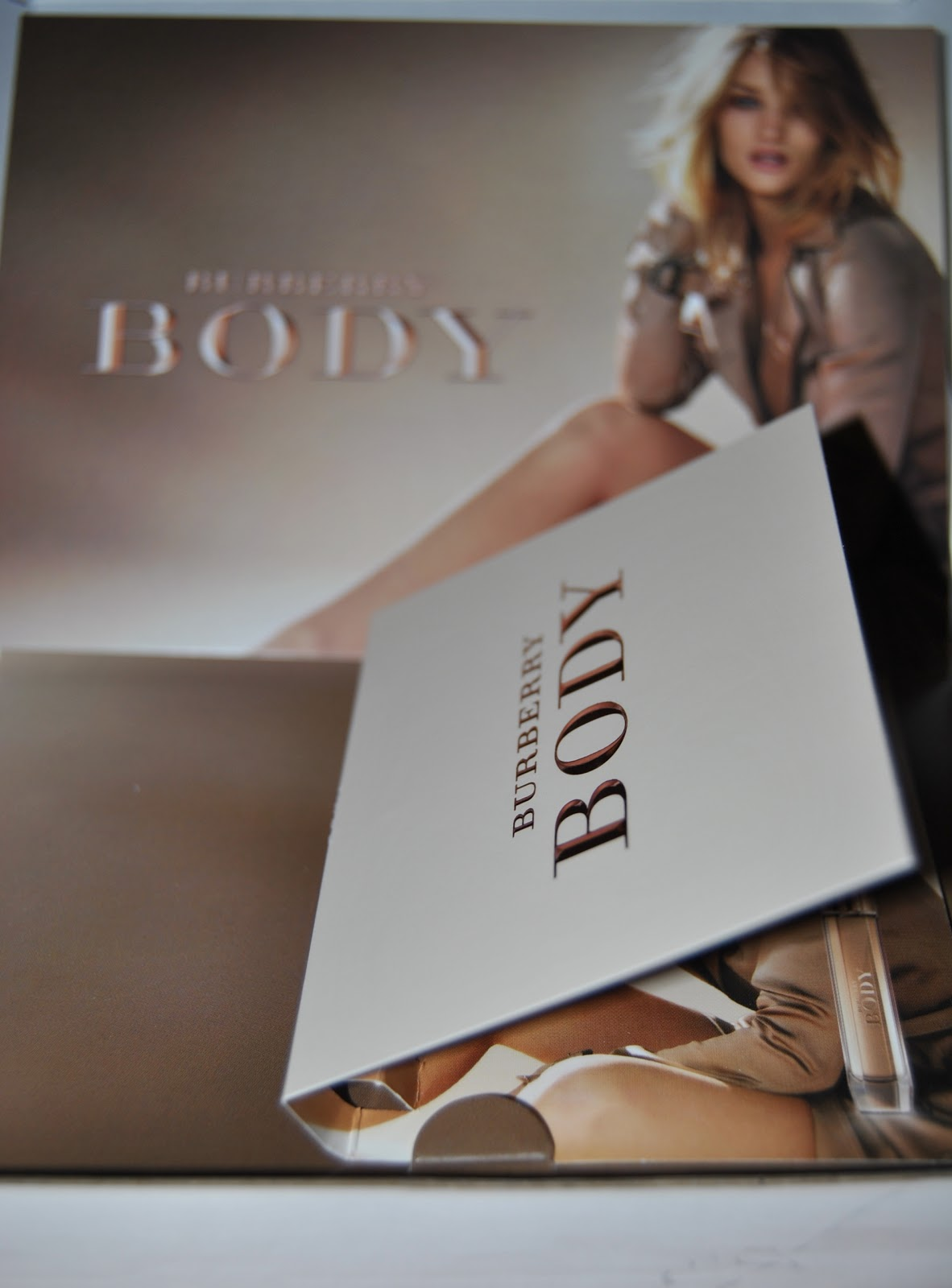 Burberry Body perfume sample