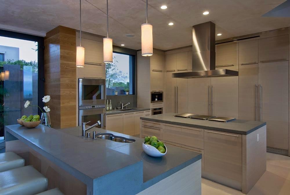 Dise o interior blue jay residence lori dennis for Casas modernas los angeles