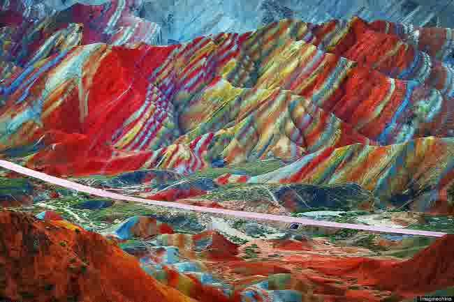 gunung pelangi