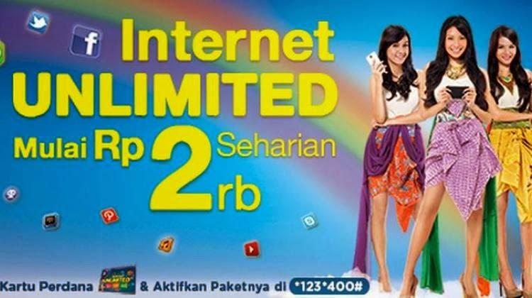 daftar paket internet xl unlimited