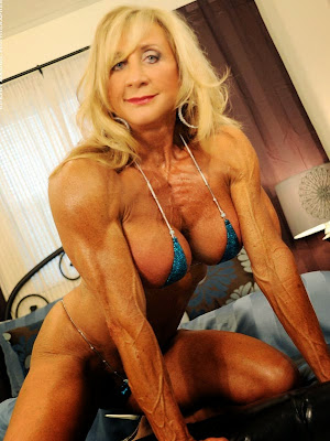 Talk Live with Sexy Female Bodybuilder Alana Snow