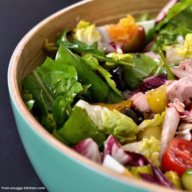 Gemischter italienischer Salat