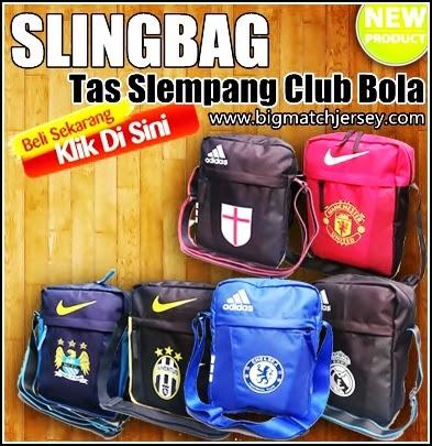 Slingbag Bola - Tas Slempang Motif Club Sepak Bola Terbaru 2015