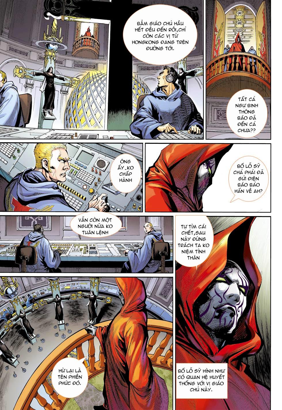 Thần Binh 4 chap 26 - Trang 12