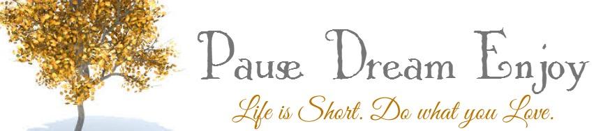 Pause Dream Enjoy
