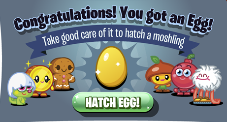Hatch Moshlings from Golden Eggs - New Feature on Moshi Monsters